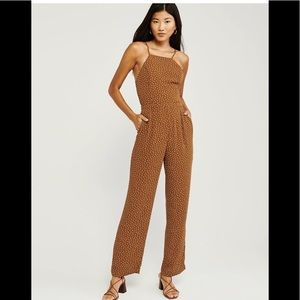 Abercrombie & Fitch bow back jumpsuit